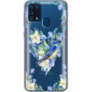 Силиконовый чехол BoxFace Samsung M315 Galaxy M31 Spring Bird (39092-cc96)