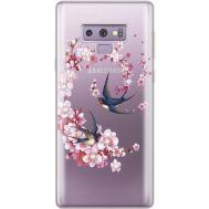 Силиконовый чехол BoxFace Samsung N960 Galaxy Note 9 Swallows and Bloom (934974-rs4)