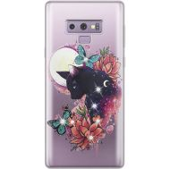 Силиконовый чехол BoxFace Samsung N960 Galaxy Note 9 Cat in Flowers (934974-rs10)
