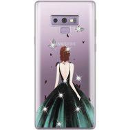 Силиконовый чехол BoxFace Samsung N960 Galaxy Note 9 Girl in the green dress (934974-rs13)