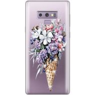 Силиконовый чехол BoxFace Samsung N960 Galaxy Note 9 Ice Cream Flowers (934974-rs17)