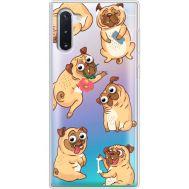 Силиконовый чехол BoxFace Samsung N970 Galaxy Note 10 с 3D-глазками Pug (37408-cc77)