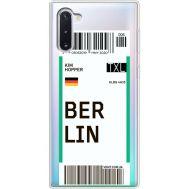 Силиконовый чехол BoxFace Samsung N970 Galaxy Note 10 Ticket Berrlin (37408-cc80)