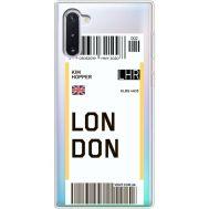 Силиконовый чехол BoxFace Samsung N970 Galaxy Note 10 Ticket London (37408-cc83)