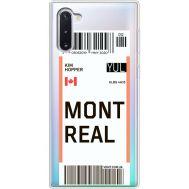 Силиконовый чехол BoxFace Samsung N970 Galaxy Note 10 Ticket Monreal (37408-cc87)