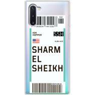 Силиконовый чехол BoxFace Samsung N970 Galaxy Note 10 Ticket Sharmel Sheikh (37408-cc90)