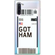 Силиконовый чехол BoxFace Samsung N970 Galaxy Note 10 Ticket Gotham (37408-cc92)