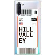 Силиконовый чехол BoxFace Samsung N970 Galaxy Note 10 Ticket Hill Valley (37408-cc94)