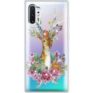 Силиконовый чехол BoxFace Samsung N975 Galaxy Note 10 Plus Deer with flowers (937687-rs5)