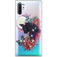 Силиконовый чехол BoxFace Samsung N975 Galaxy Note 10 Plus Cat in Flowers (937687-rs10)