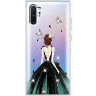 Силиконовый чехол BoxFace Samsung N975 Galaxy Note 10 Plus Girl in the green dress (937687-rs13)