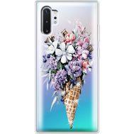 Силиконовый чехол BoxFace Samsung N975 Galaxy Note 10 Plus Ice Cream Flowers (937687-rs17)