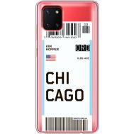 Силиконовый чехол BoxFace Samsung N770 Galaxy Note 10 Lite Ticket Chicago (38846-cc82)