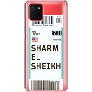 Силиконовый чехол BoxFace Samsung N770 Galaxy Note 10 Lite Ticket Sharmel Sheikh (38846-cc90)
