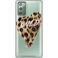 Силиконовый чехол BoxFace Samsung N980 Galaxy Note 20 Wild Love (40569-cc64)