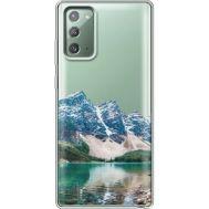 Силиконовый чехол BoxFace Samsung N980 Galaxy Note 20 Blue Mountain (40569-cc68)