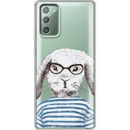 Силиконовый чехол BoxFace Samsung N980 Galaxy Note 20 MR. Rabbit (40569-cc71)