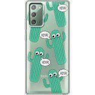 Силиконовый чехол BoxFace Samsung N980 Galaxy Note 20 с 3D-глазками HIYA (40569-cc72)