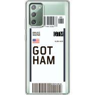 Силиконовый чехол BoxFace Samsung N980 Galaxy Note 20 Ticket Gotham (40569-cc92)