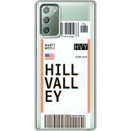 Силиконовый чехол BoxFace Samsung N980 Galaxy Note 20 Ticket Hill Valley (40569-cc94)