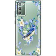 Силиконовый чехол BoxFace Samsung N980 Galaxy Note 20 Spring Bird (40569-cc96)