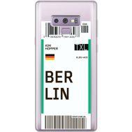 Силиконовый чехол BoxFace Samsung N960 Galaxy Note 9 Ticket Berrlin (34974-cc80)