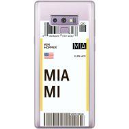 Силиконовый чехол BoxFace Samsung N960 Galaxy Note 9 Ticket Miami (34974-cc81)