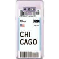 Силиконовый чехол BoxFace Samsung N960 Galaxy Note 9 Ticket Chicago (34974-cc82)