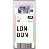 Силиконовый чехол BoxFace Samsung N960 Galaxy Note 9 Ticket London (34974-cc83)