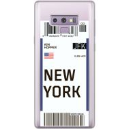 Силиконовый чехол BoxFace Samsung N960 Galaxy Note 9 Ticket New York (34974-cc84)
