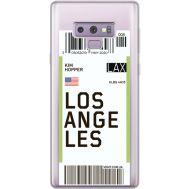 Силиконовый чехол BoxFace Samsung N960 Galaxy Note 9 Ticket Los Angeles (34974-cc85)