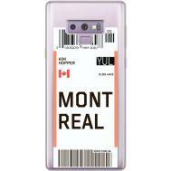 Силиконовый чехол BoxFace Samsung N960 Galaxy Note 9 Ticket Monreal (34974-cc87)