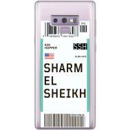 Силиконовый чехол BoxFace Samsung N960 Galaxy Note 9 Ticket Sharmel Sheikh (34974-cc90)