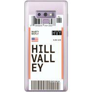 Силиконовый чехол BoxFace Samsung N960 Galaxy Note 9 Ticket Hill Valley (34974-cc94)