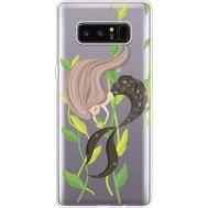 Силиконовый чехол BoxFace Samsung N950F Galaxy Note 8 Cute Mermaid (35949-cc62)