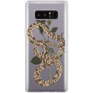 Силиконовый чехол BoxFace Samsung N950F Galaxy Note 8 Glamor Snake (35949-cc67)