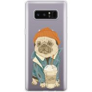 Силиконовый чехол BoxFace Samsung N950F Galaxy Note 8 Dog Coffeeman (35949-cc70)