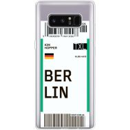 Силиконовый чехол BoxFace Samsung N950F Galaxy Note 8 Ticket Berrlin (35949-cc80)
