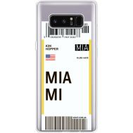 Силиконовый чехол BoxFace Samsung N950F Galaxy Note 8 Ticket Miami (35949-cc81)