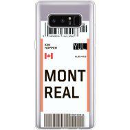 Силиконовый чехол BoxFace Samsung N950F Galaxy Note 8 Ticket Monreal (35949-cc87)
