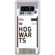Силиконовый чехол BoxFace Samsung N950F Galaxy Note 8 Ticket Hogwarts (35949-cc91)