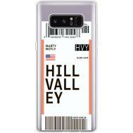 Силиконовый чехол BoxFace Samsung N950F Galaxy Note 8 Ticket Hill Valley (35949-cc94)