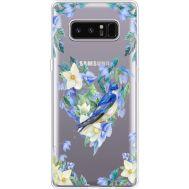 Силиконовый чехол BoxFace Samsung N950F Galaxy Note 8 Spring Bird (35949-cc96)