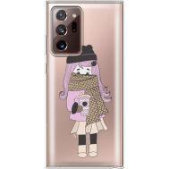 Силиконовый чехол BoxFace Samsung N985 Galaxy Note 20 Ultra Winter Morning Girl (40574-cc61)