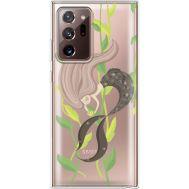 Силиконовый чехол BoxFace Samsung N985 Galaxy Note 20 Ultra Cute Mermaid (40574-cc62)