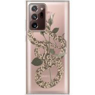 Силиконовый чехол BoxFace Samsung N985 Galaxy Note 20 Ultra Glamor Snake (40574-cc67)
