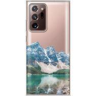 Силиконовый чехол BoxFace Samsung N985 Galaxy Note 20 Ultra Blue Mountain (40574-cc68)