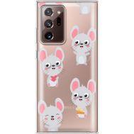 Силиконовый чехол BoxFace Samsung N985 Galaxy Note 20 Ultra с 3D-глазками Mouse (40574-cc76)