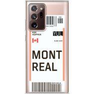 Силиконовый чехол BoxFace Samsung N985 Galaxy Note 20 Ultra Ticket Monreal (40574-cc87)