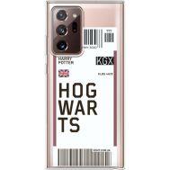 Силиконовый чехол BoxFace Samsung N985 Galaxy Note 20 Ultra Ticket Hogwarts (40574-cc91)